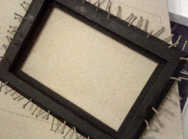 Nail Picture Frame by SallyGauge