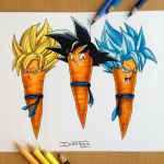 Goku Carrot Drawing by AtomiccircuS