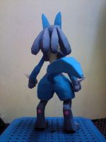Lucario Papercraft 3 by riolushinx