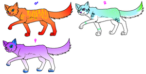 Free Cat Adoptables by DasMinty