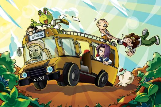 :WiLd RiDe: Lawak Kampus by endless-whispers