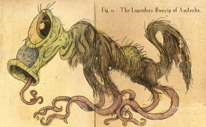 Bunyip-yip-yip by eternalsaturn