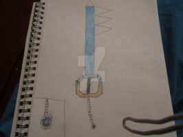 Blue Koopa King Keyblade by Wolf-Prince-Leon
