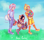 Happy Easter by SweetCatMint