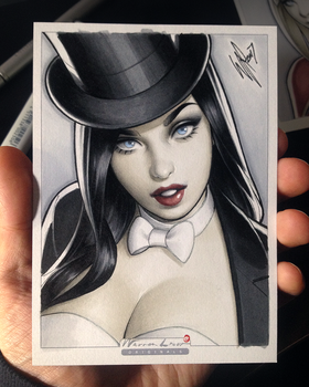 Zatanna by WarrenLouw