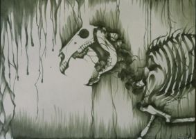 Death's horse by enigmal-insanity