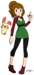 New Clothes For ORAS/ ROZA - Kyt and Philia by Kyt666