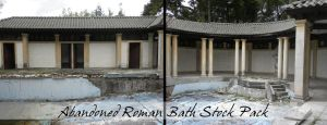 Abandoned Roman Bath Stock by kpep