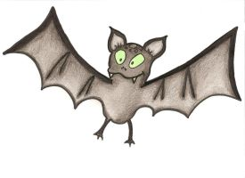 Crazy bat by Octaviana