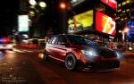 Ford Focus at Times Square by ollite20