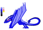 Saph's Wyvern Form -Reference- by Sapphire-Essence