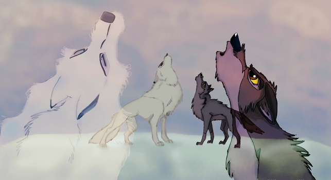 OLD: Heritage of the Wolf-Request 2011 by EmberWolfsArt