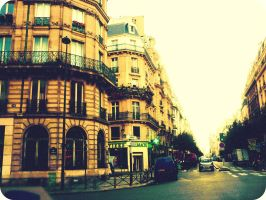 Somewhere in Paris by LittleRedHatter