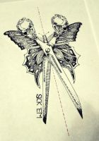 Butterfly Scissors by astenskaya