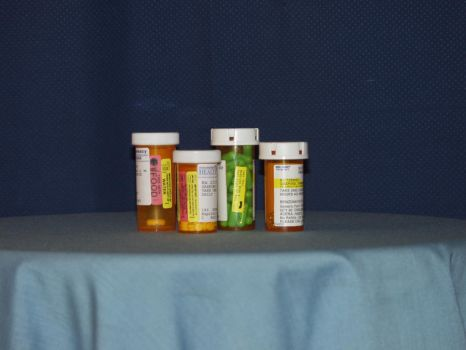 Pill Bottles by nitch-stock