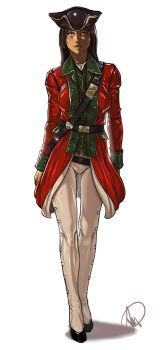 Assassins Creed red coat (clothed version) by elcarlo42