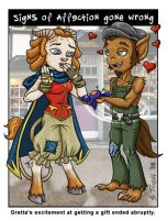 Speed Dating - Wilf and Gretta by Shannanigan