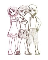 KH trio by Cooler-Aid13