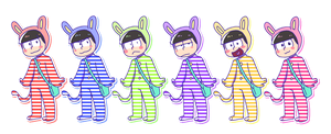 Osomatsu the Performer by 8Otakutalia8