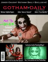 Gotham Daily Magazine Cover 1 by InvisibleCorpseGirl