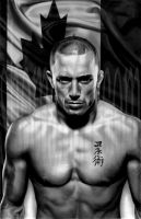Georges St Pierre by ShomanArt