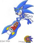 Extreme Sonic - Sonic Riders by ZBot9000