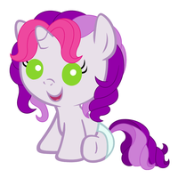 Baby G3 Sweetie Belle by Beavernator