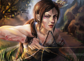 Lara Croft by Balisson