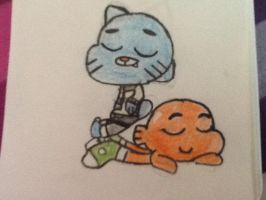 The amazing world of Gumball by Epicsquirtle