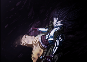 Gajeel Redfox - ''Iron Shadow Dragon'' by Ric9Duran