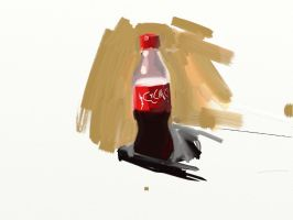 Coke by DemetrPaints