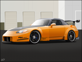 -Honda S2000 Amuse- by zeba5