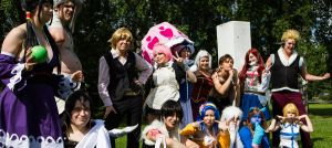 Casual Fairy tail - Group by SaaraZ