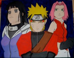 Naruto Help Us by mento123