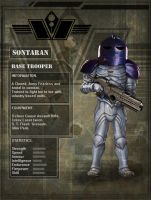 Sontraran Base Trooper by DarkAngelDTB