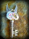 Ticking Fairy Fantasy key by ArtByStarlaMoore