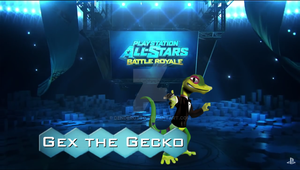 PS All-Stars New Challenger! - Gex the Gecko by DENDEROTTO