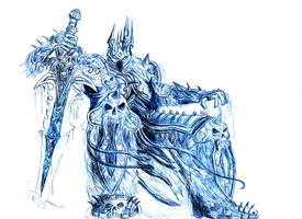 wrath of the lich king by fred1841