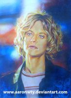 Meg Ryan - mixed media by aaronwty