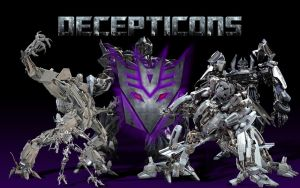 Decepticons by monkeybiziu
