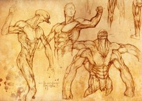 Sketches by 7leipnir