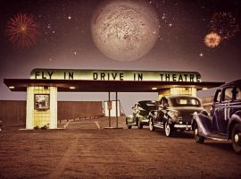 A True American Drive-In by RMS-OLYMPIC