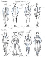 Medieval Styled Men's Clothing by Cyber-Ella