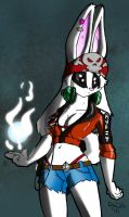 Another Bunny girl by TheBurningDonut