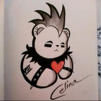 PUNK BEAR LOVE by ChibiCelina