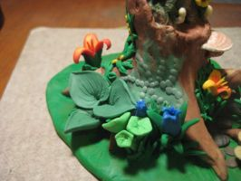 Clay Fairy House 6 by sing2mi