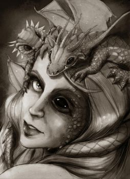 Dragon's Mother by Kidsoul