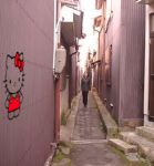 Hello Kitty Gang Graffiti by wonderduck