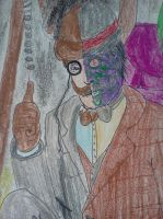 Will Steampunk Batman Survive???-Two-Face by dhbraley