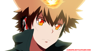 Tsuna Sawada ( The young leader of the Vongola ) by JAIROPD